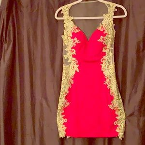 Jovani RED Super Sexy Cocktail Dress